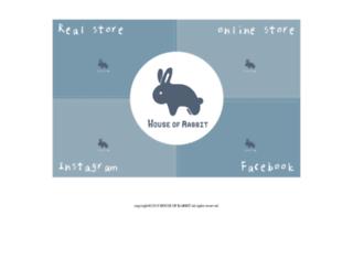 houseofrabbit.com screenshot