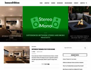 houseofribbon.com screenshot