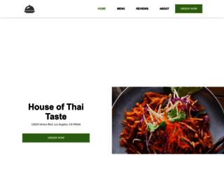 houseofthaitaste.com screenshot