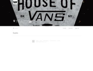 houseofvansbrooklyn.queueapp.com screenshot