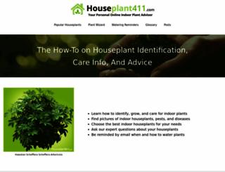 houseplant411.com screenshot
