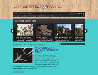 housesittingtravel.com screenshot