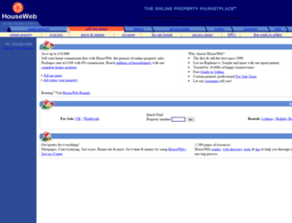houseweb.com screenshot