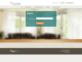 houseworksllc.clearcareonline.com screenshot