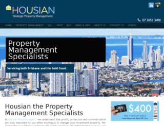 housian.com.au screenshot
