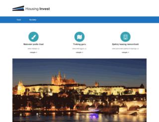 housing-invest.cz screenshot