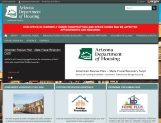 housing.az.gov screenshot
