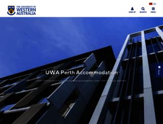 housing.uwa.edu.au screenshot