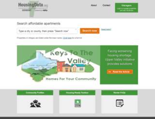 housingdata.org screenshot
