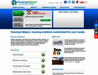 housinghelpers.com screenshot