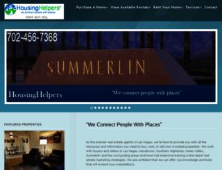 housinghelperslv.com screenshot