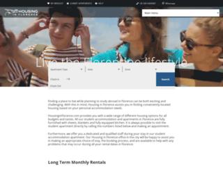 housinginflorence.com screenshot