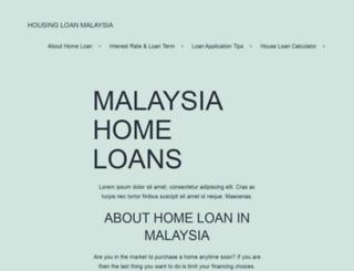 housingloan.com.my screenshot