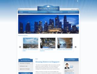 housingmatters.com.sg screenshot