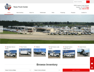 houston-automotive-group-texas-truck-center.ebizautos.com screenshot