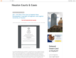 houston-courts-and-cases.blogspot.com screenshot