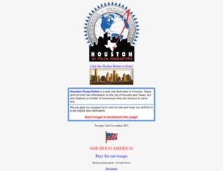 houston-texas-online.com screenshot