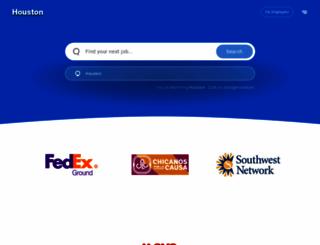 houston.jobing.com screenshot