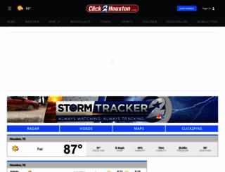 houston.justweather.com screenshot