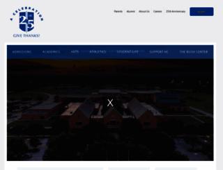 houstonchristian.org screenshot