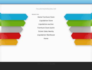 houstonestatesales.net screenshot
