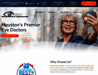 houstoneye.com screenshot