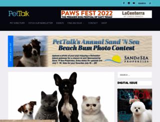 houstonpettalk.com screenshot