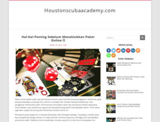 houstonscubaacademy.com screenshot