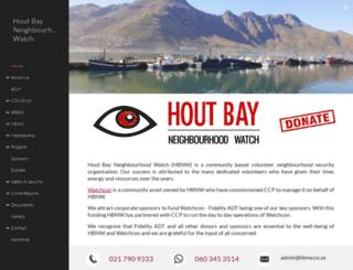 houtbaywatch.com screenshot