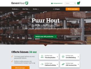 houthandelgeven.nl screenshot
