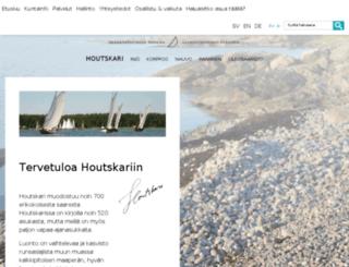 houtskari.fi screenshot