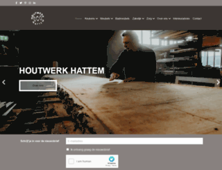 houtwerk.com screenshot