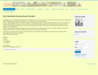 houtzaagmolen.nl screenshot