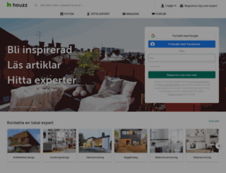 houzz.se screenshot