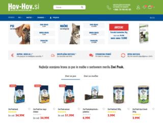 hov-hov.si screenshot