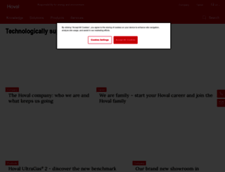 hoval.com screenshot