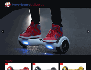 hoverboarddelivered.com screenshot
