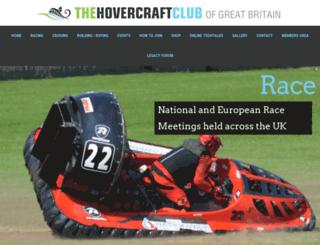 hovercraft.org.uk screenshot