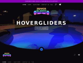 hovergliders.com screenshot
