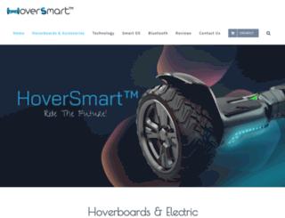 hoversmartboards.com screenshot