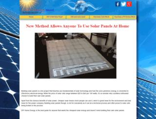 how-to-build-solar-panels.org screenshot
