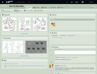 how-to-draw-list.deviantart.com screenshot