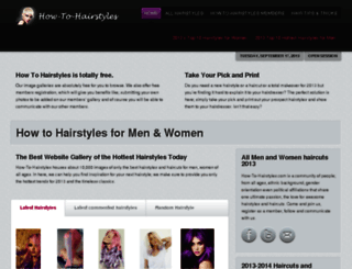 how-to-hairstyles.com screenshot