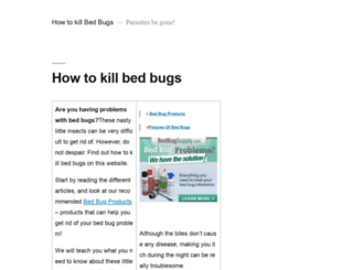 how-to-kill-bedbugs.com screenshot
