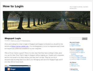 how-to-login.com screenshot