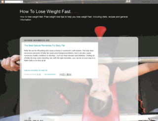 how-to-lose-weight-fast-n-easy.blogspot.com screenshot