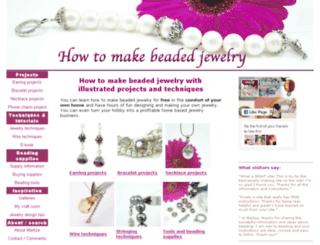 how-to-make-beaded-jewelry.com screenshot
