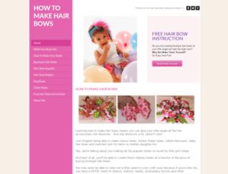 how-to-make-hair-bows.org screenshot