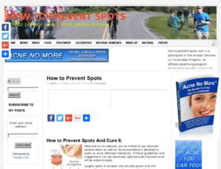 how-to-prevent-spots.com screenshot