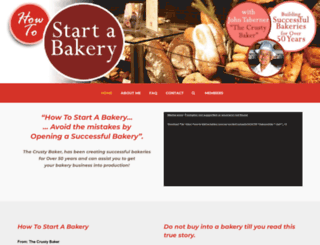 how-to-start-a-bakery.com screenshot